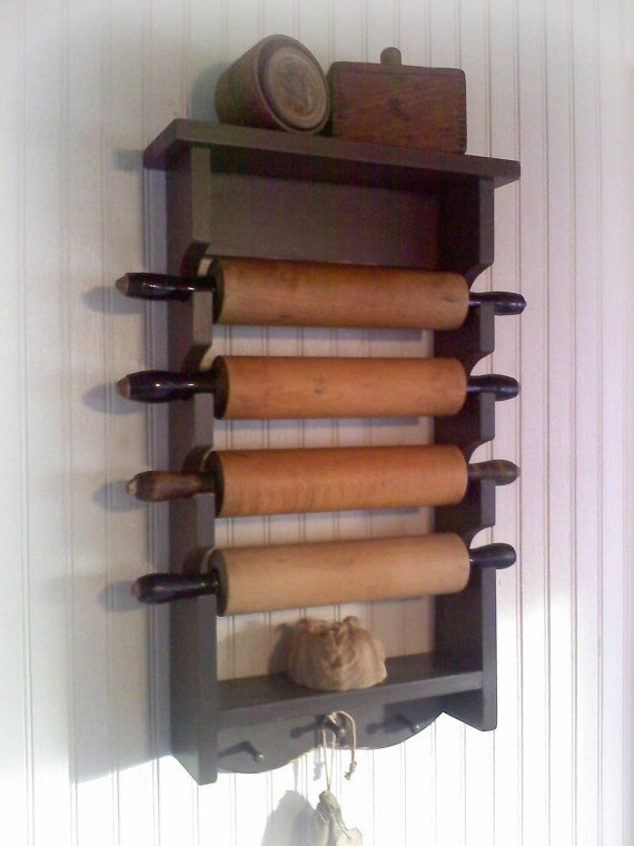 traditional display: Images 188251, Posts, Rolls Pin Racks, Rolling Pins, House, Keukenbenodigheden Kitchens, Contr Kitchens, Foil Racks, Wooden Guns Racks Rustic