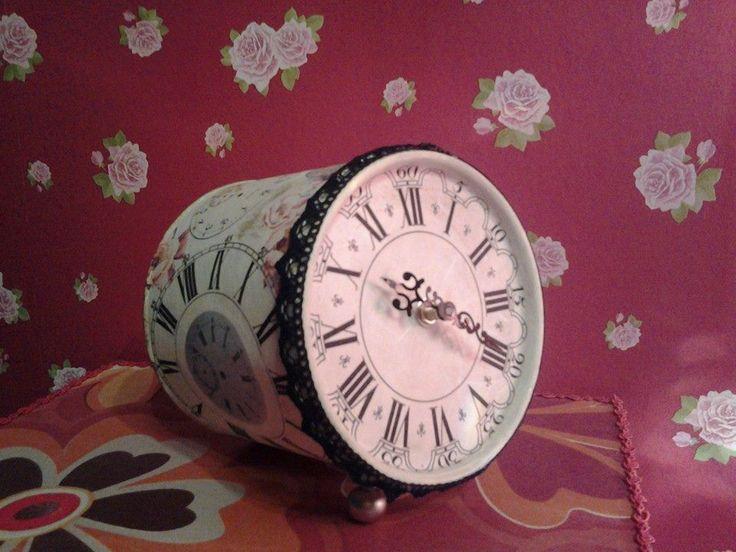 clock inspiration made by Erifili