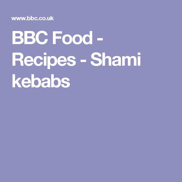 BBC Food - Recipes - Shami kebabs