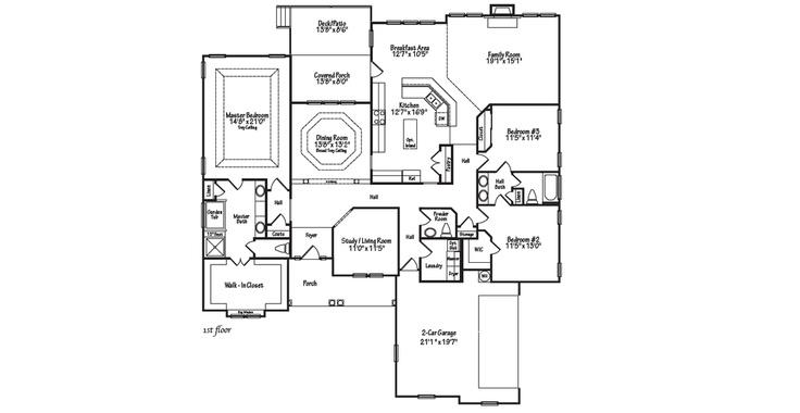 1000 images about our dream floor plans on pinterest for Dream kitchen floor plans