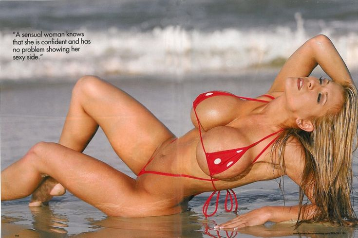Valerie cormier micro bikini indeed