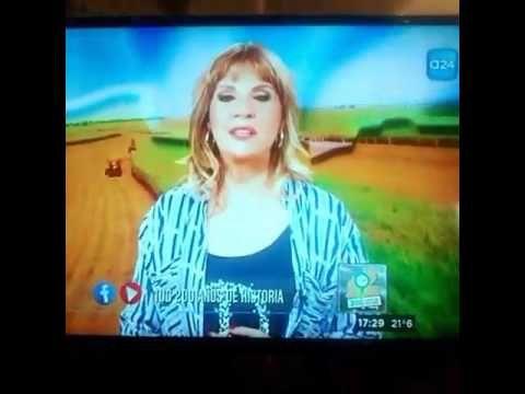 Sab 18 de marzo 2017: en la TV los agradecimiento de Tete!