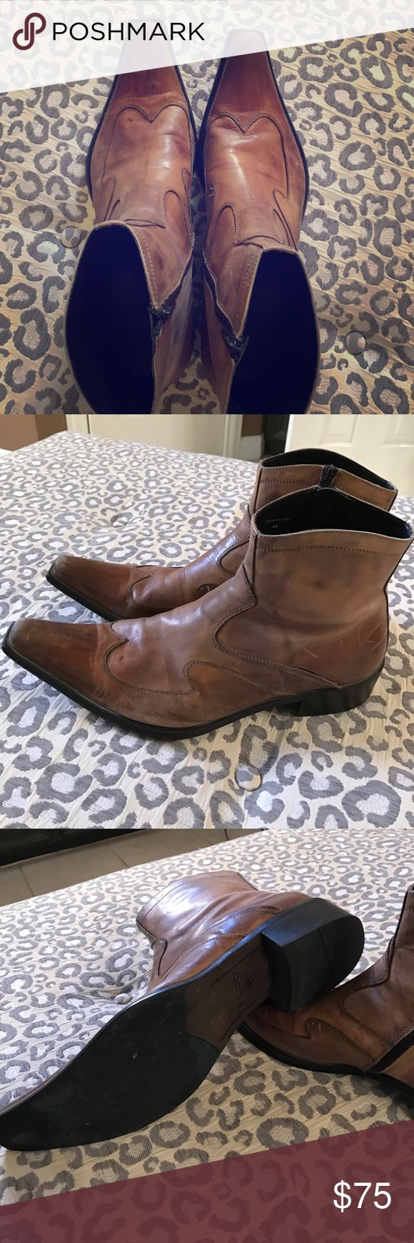 Men's tan Aldo boots Aldo boots, very stylish, looks great with jeans Aldo Shoes Boots