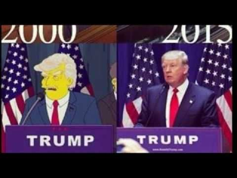 WATCH Simpsons Prediction of Donald Trump Becoming President Comes True