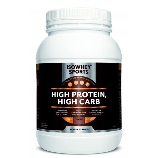 IsoWhey® Sports High Protein, High Carb - IsoWhey® Sports - Supplements/Nutrition