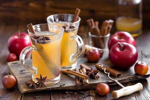 Яблочный горячий сидр с бурбоном — Bermix Cook
