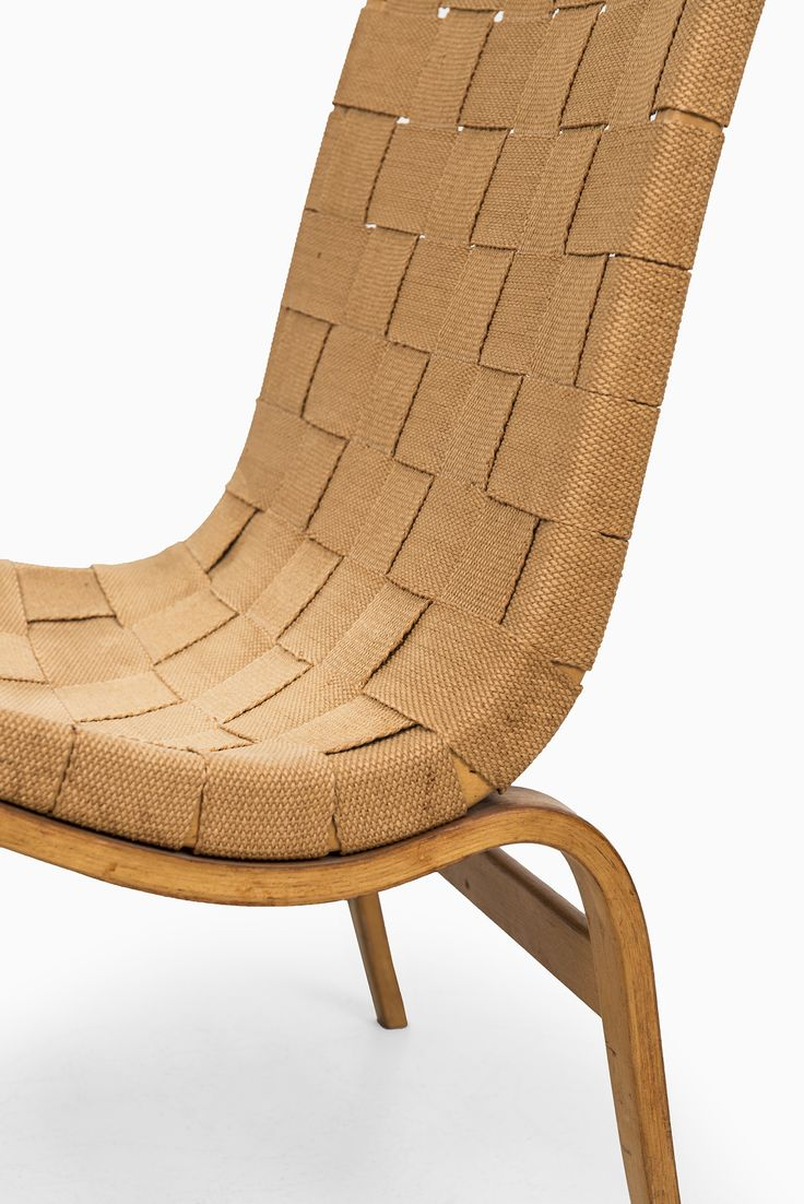 Bruno Mathsson easy chair model Eva by Karl Mathsson at Studio Schalling