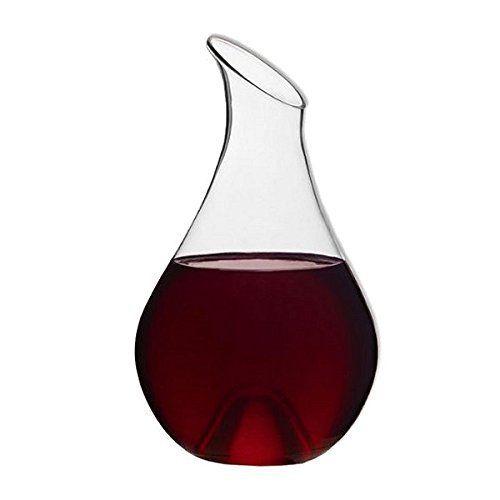 REVIMPORT – Carafe à Décanter 1,8 L verre soufflé Moderne *: Carafe à décanter raffinée – Verre soufflé haute qualité – Devient un vase…