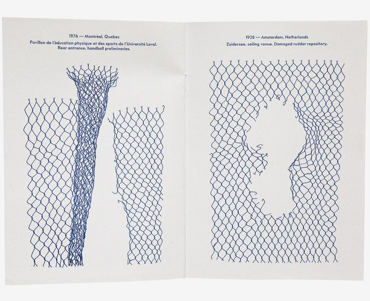 "Tim Lahan - 'Olympic Fencing' is a 16-page book of chain link fence drawings.  Each fence is paired with a detailed documentation of ""origin."" 5.75"" x 8..."