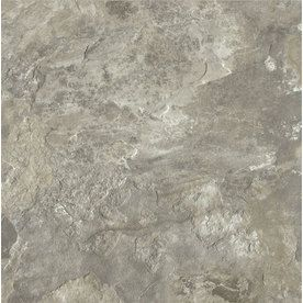 Armstrong�12-in x 12-in Crescendo French Gray Stone Finish Luxury Vinyl Tile