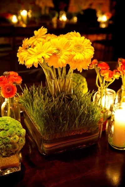 Yellow Centerpieces CenterpiecesShower CenterpiecesWedding DecorBee ThemeFloral ArrangementsBeautiful