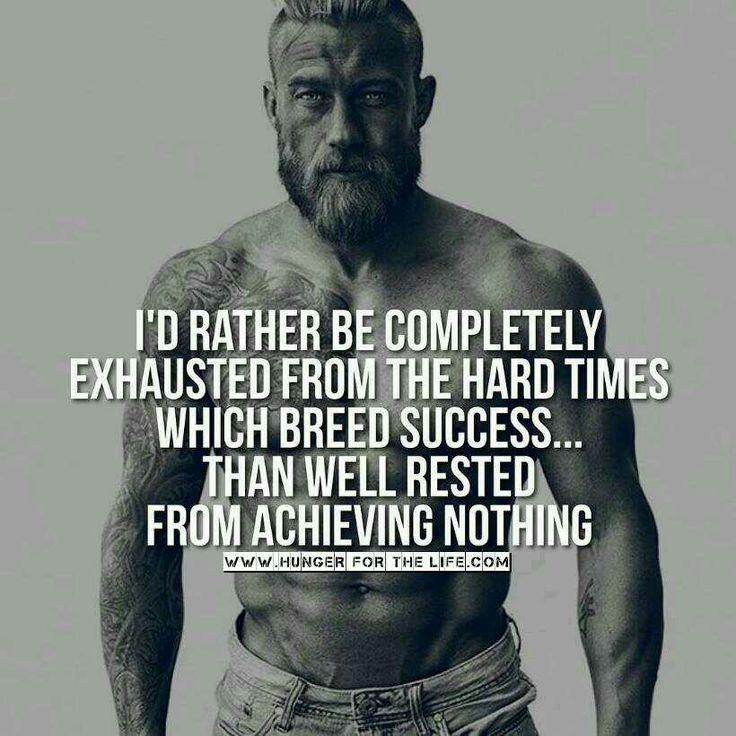 Hard work breeds success