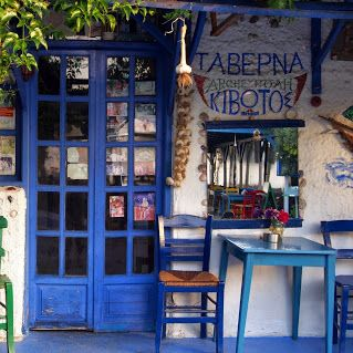 The colours of Sarti (Greece, Chalkidiki). I Love it!