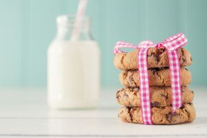 Soft, delicious choc chip cookie recipe. Both conventional and Thermomix methods included. These are my new go to cookie recipe.