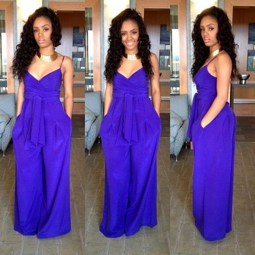 Royal Blue ...love this color against my skin!!! oh and she's gorgeous