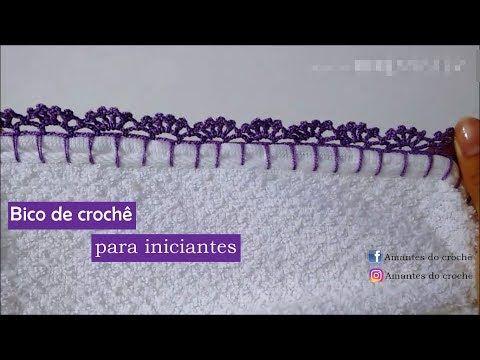 Bico de Crochê para INICIANTES - YouTube