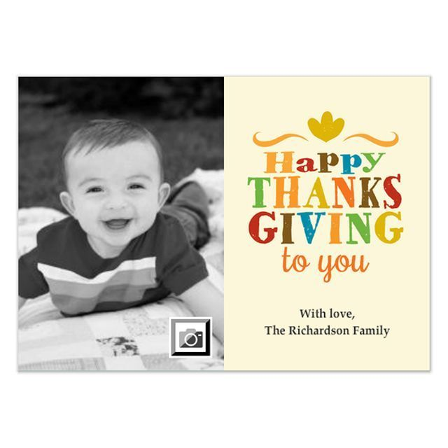 Free Thanksgiving Ecards to Send to Friends and Family: Happy Thanksgiving Ecard by Marcia Copeland