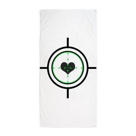 $29.99 Target: Love Beach Towel on CafePress.com