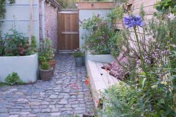 Kleine tuin ontwerp. Visavis.nl fotografie: Maayke de Ridder