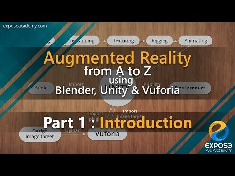 Making Augmented Reality app with Blender, Unity and Vuforia - BlenderNation