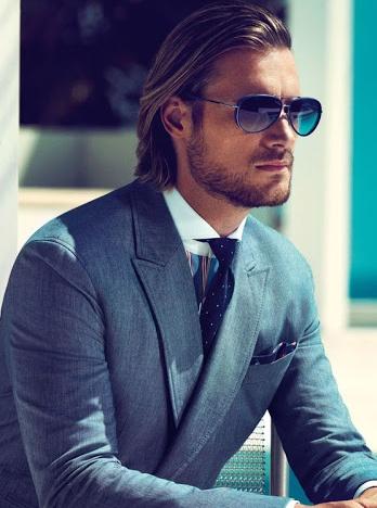 Hugo Boss Eyewear Spring-Summer 2013 Campaign - Gabriel Aubrey