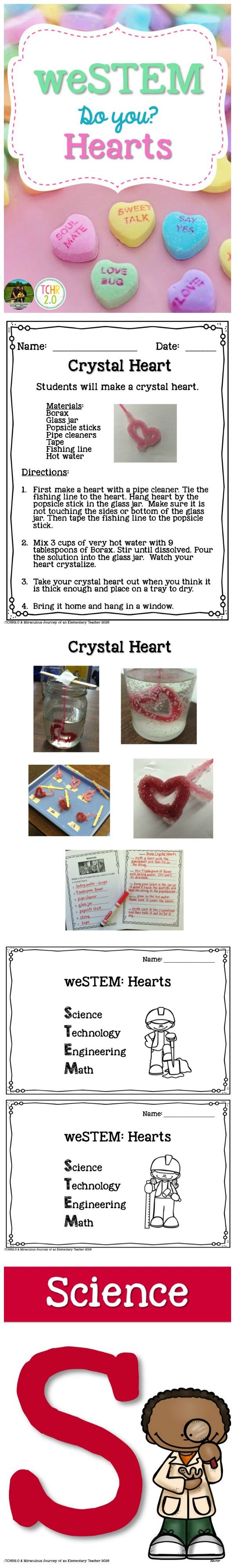 Are you a classroom teacher looking for a way to integrate STEM activities into your current curriculum? If so, this product might be just what you are looking for. These are heart-themed STEM activities that will complement what you do around Valentine's Day.