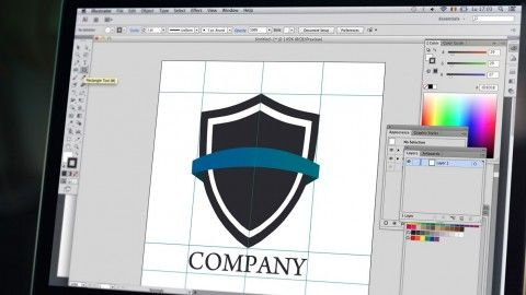 Learn how to design a logo from client brief to finished design.