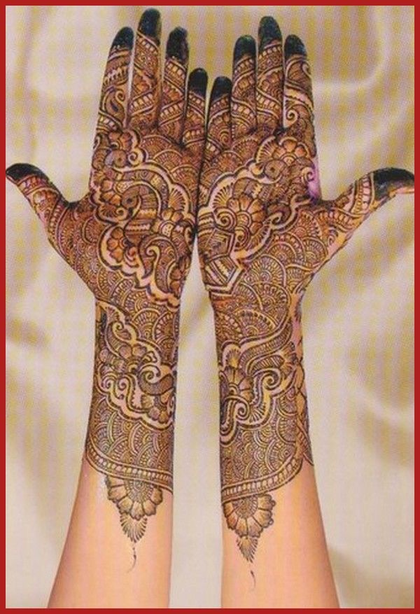 25 Best Ideas About Rajasthani Mehndi Designs On