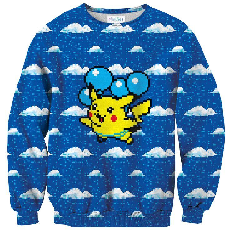 Flying Pikachu Sweater