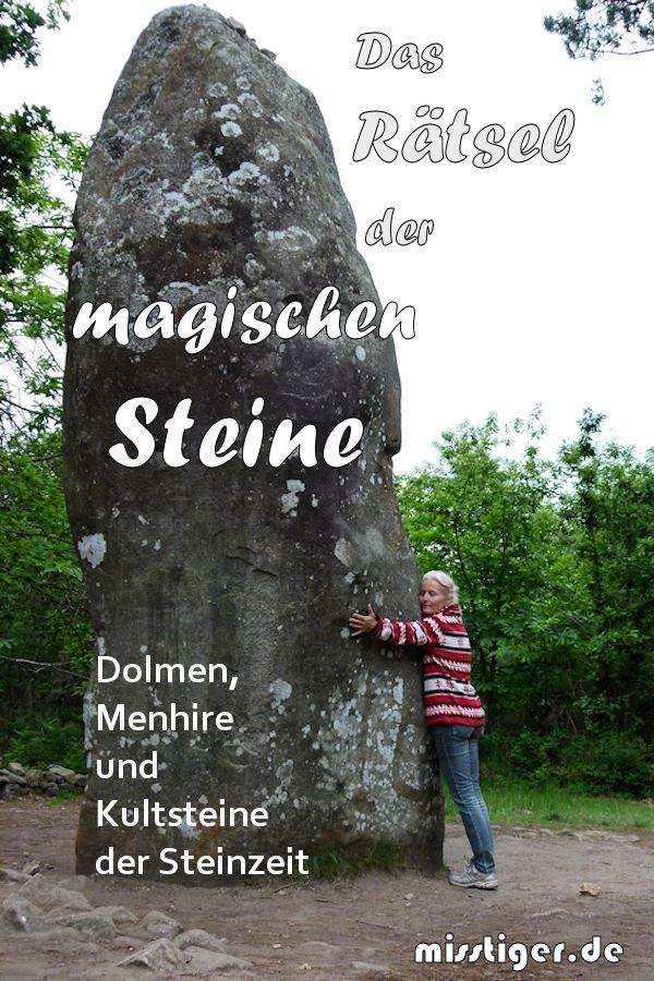 Stich Kultur der Steinzeit Dolmen Tumulus Feuerstein Steinkreis 1890 Original