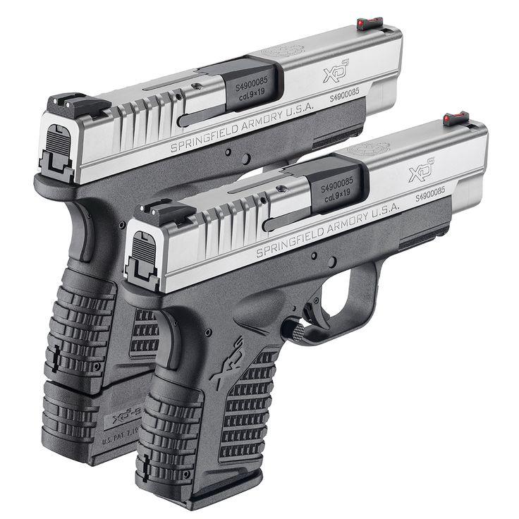 "XD-S 4"" 9MM Handgun | Best Pistol for Concealed Carry"