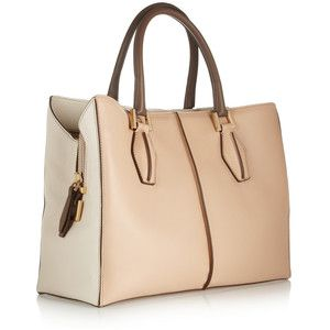 Tod's D-Cube Shopping medium leather tote