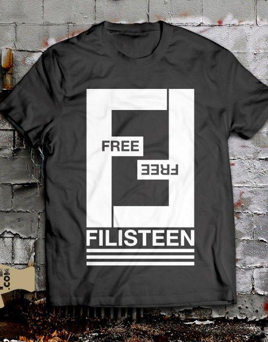 Free Free Filisteen Palestine Fendi Style T-Shirt