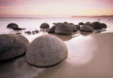 Moeraki Boulders - Dunedin, New Zealand DONE!