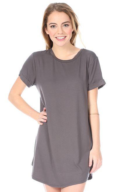 Quinn Dress in Grey