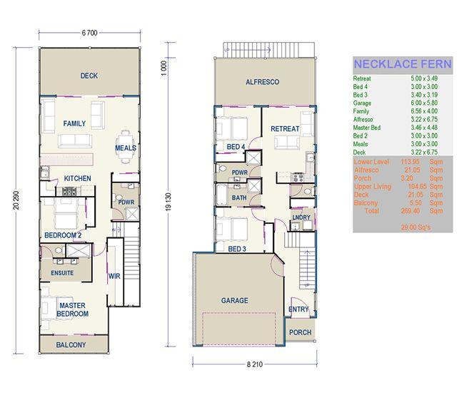Beautiful Small Duplex House Plans 7 Small Narrow Lot