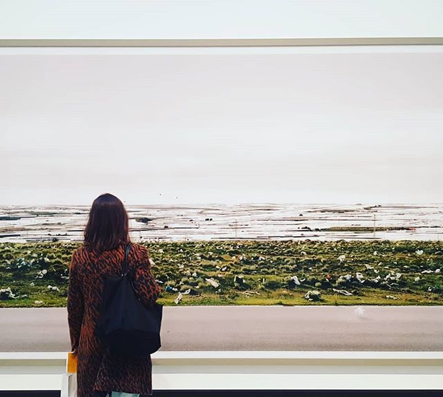 One more! Contemplation into the deep! Visit London and its gallery's!  #london #art #culture #southbank #waterloo #gursky #scale #incrediblephotography #curious #surreal #wandering #master #visitlondon #lovelondon #londoner