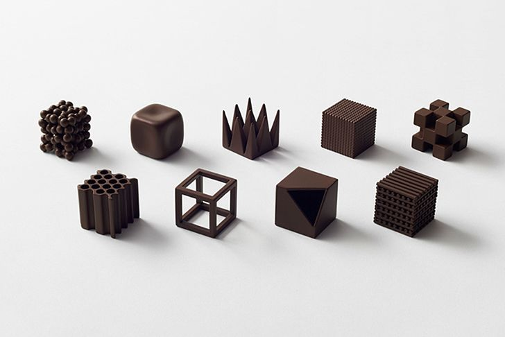 Nendo's new Chocolatexture lets you taste the meaning of Japanese words | Inhabitat - Sustainable Design Innovation, Eco Architecture, Green Building