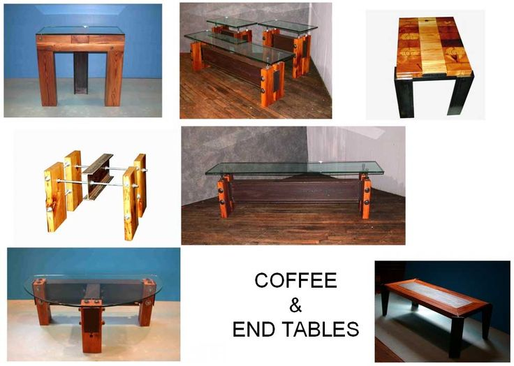 A Great Selection Of Unique And Modern Occasional Tables Made From  Reclaimed Scrap Metal And Wood