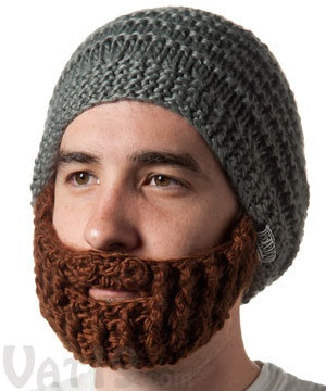 It would be believable from a distance! The Original Beard Hat from Beardo