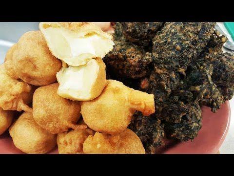 Buñuelos de acelga y de papa rellenos con queso - Recetas – Cocineros Argentinos