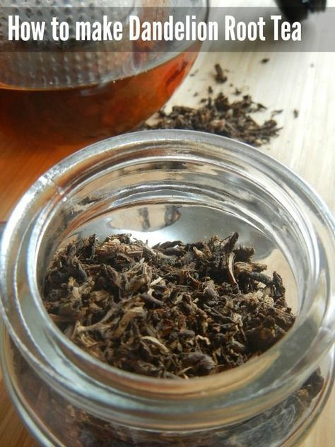 How to make Dandelion Root Tea - it's so good for you, and it couldn't be easier!