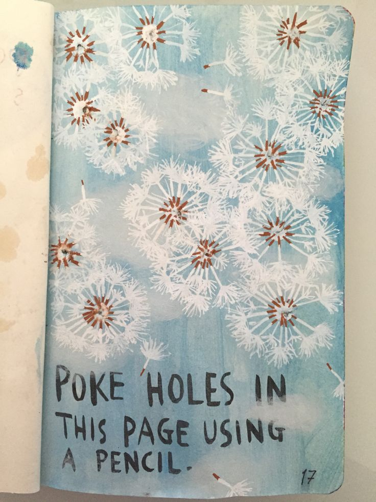 ~Poke holes in this page using a pencil.~Sorry for not posting in ageees :/