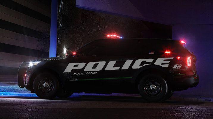 2020 Ford Police Interceptor Utility Gets Hybrid Powertrain With