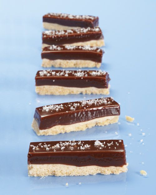 Chocolate-Caramel Cookie Bars -