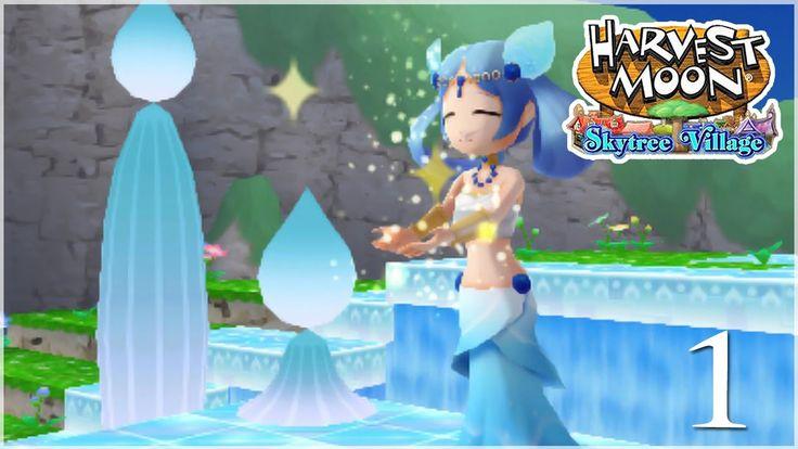 Caring for the Harvest Goddess!! • Harvest Moon: Skytree Village - Episo...
