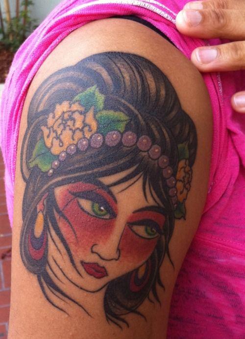 17 melhores ideias sobre significado gueixa no pinterest - Tattoos geishas japonesas ...