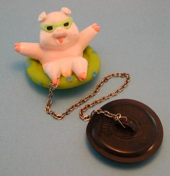 Piggy Sink Stopper