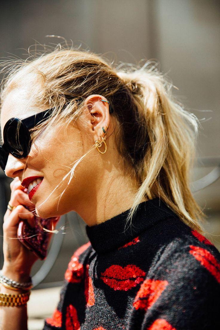 Estilo de Rua Semana de Moda de Nova York, Setembro de 2016 -  /  Street Style New York Fashion Week, septiembre de 2016 -