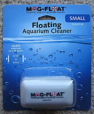 Mag Float Floating Aquarium Cleaner Small Float-30 up to 30 gallon fish tank